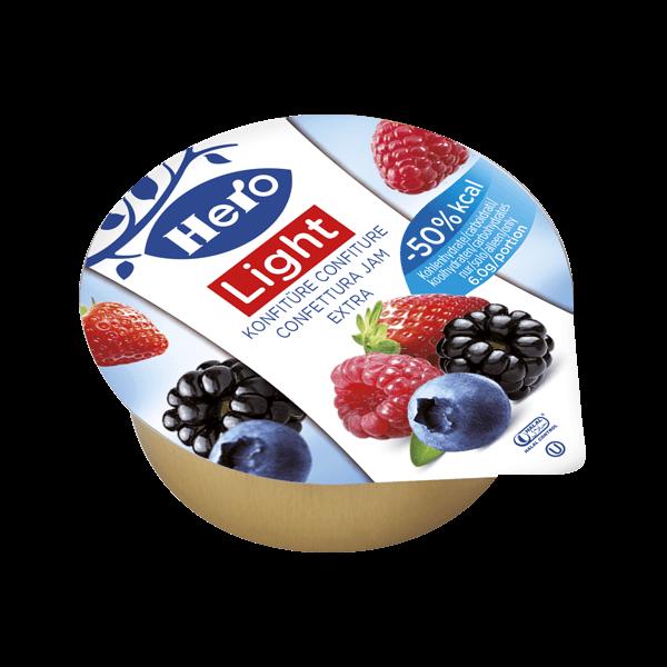Confettura Light di Frutti di Bosco 25gr (120 pezzi)