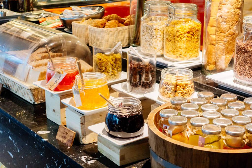consigli migliorare buffet breakfast