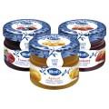 HERO Tris Confetture Monodose Albicocca Frutti di Bosco e Fragola 72x28gr