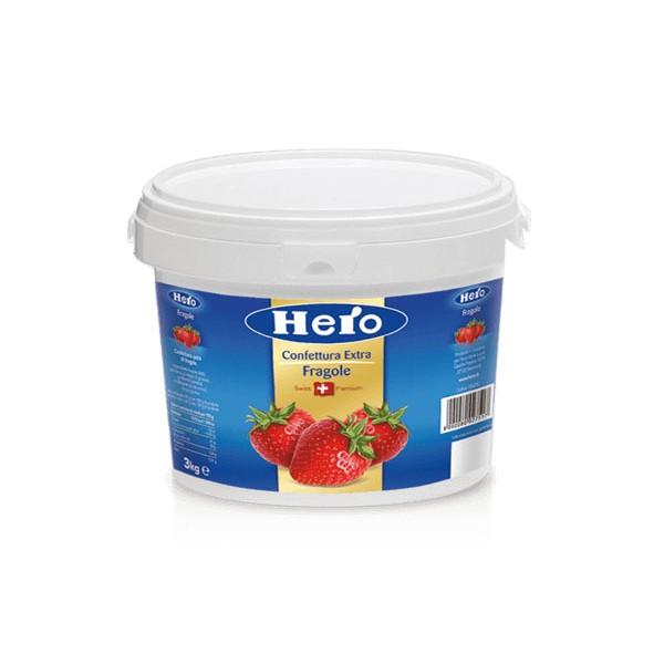 Hero Confettura Extra Fragole 1x3,65 Kg