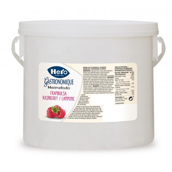 Hero preparazione di frutta Lamponi 1 X 4,2 KG