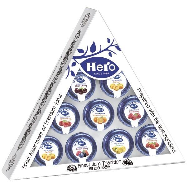 Hero Confetture Extra Piramide 10x28,3gr - 120 pezzi