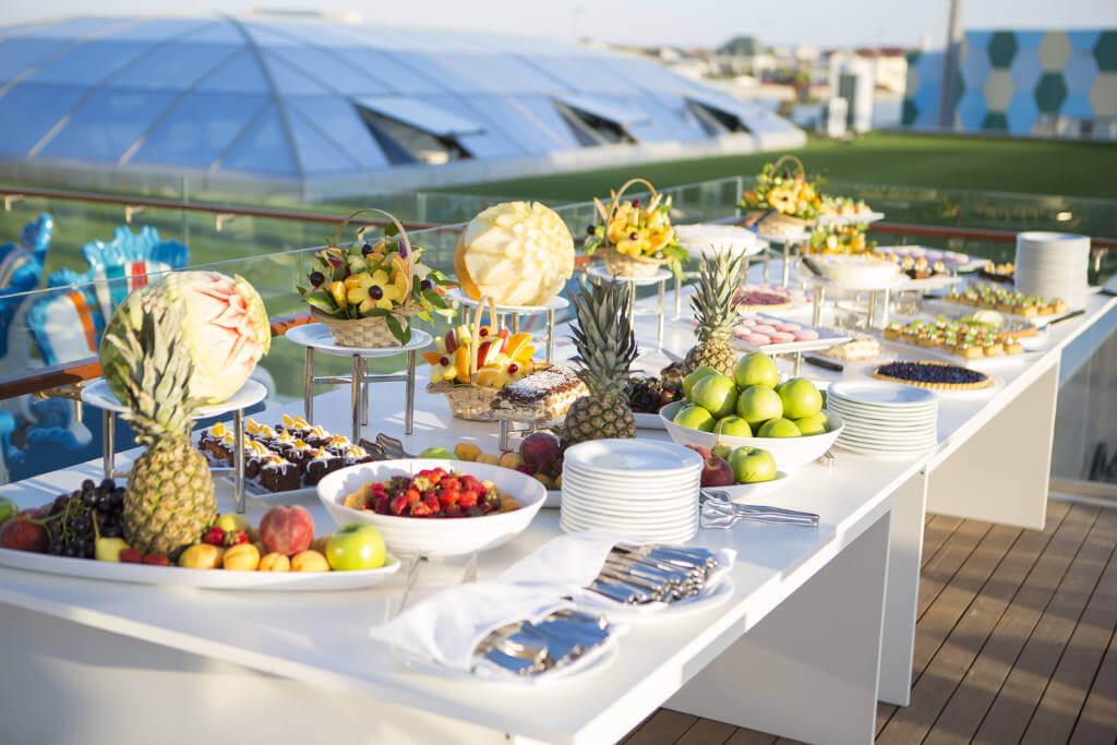 alimenti buffet breakfast