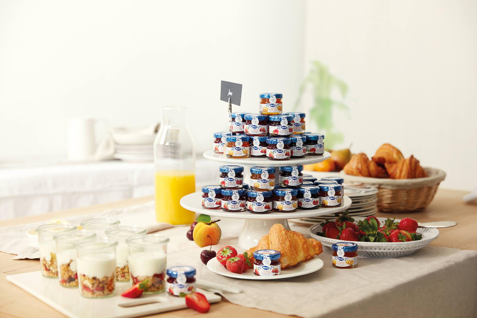 allestimento buffet breakfast